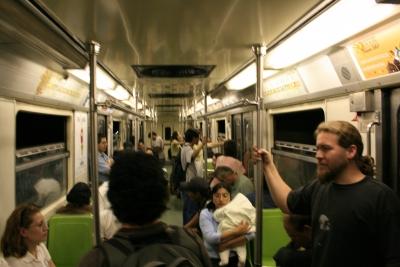 m77 en el metro