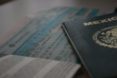 Boleto y pasaporte... DC7
