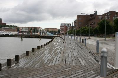 Muelle de la universidad