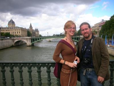 CJ & m77 @ Pont D'Arcole